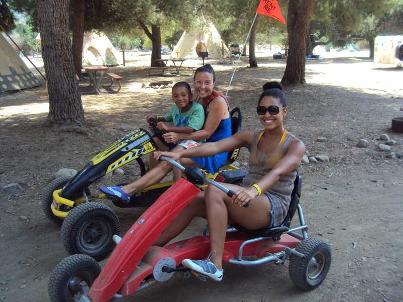 Four-wheeler pedal bikes at KOA Ventura